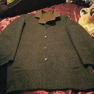 J. Jill Alpaca Wool Reversible Coat